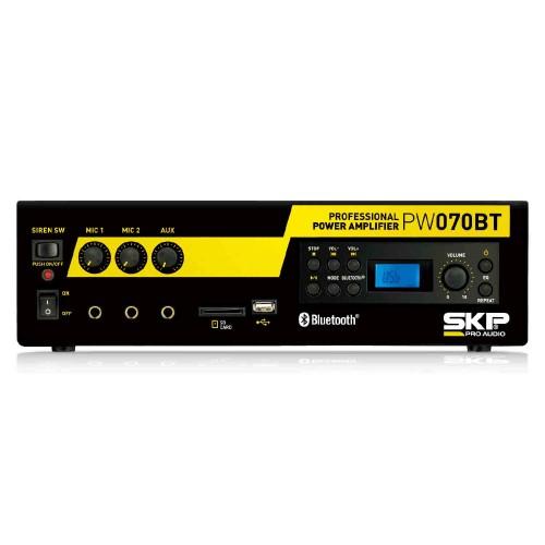 Amplificador de Som Ambiente SKP PW070BT Bluetooth