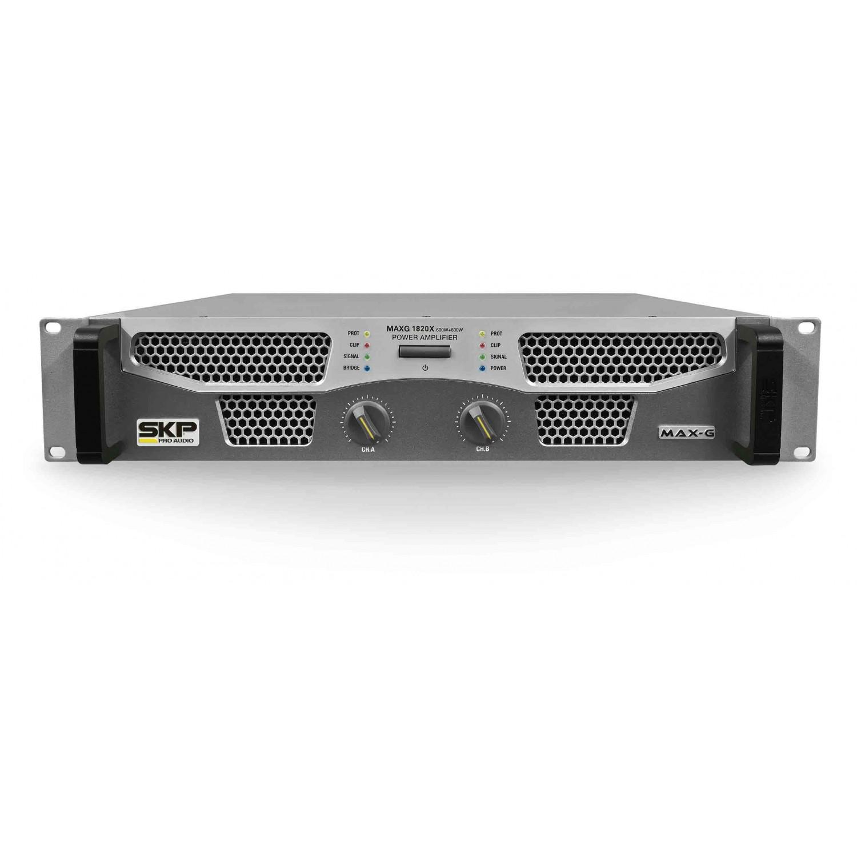 Amplificador Potência 1200W SKP Maxg 1820X
