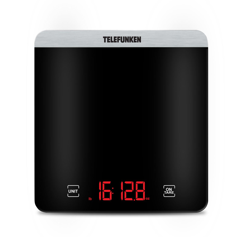 Balança Digital de Cozinha em Vidro Telefunken KS 500