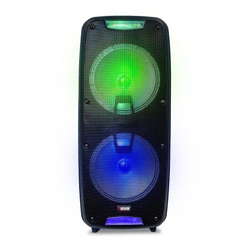 Caixa de Som Portátil com Bateria Novik Neo X Blast