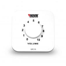 Controlador de Volume para Som Ambiente Novik WRC-30