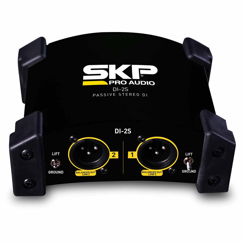 Direct Box DI Passivo Estéreo 2 canais Skp DI-2S