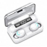 Fone de Ouvido Earbuds Bluetooth Telefunken BTH 200 Branco
