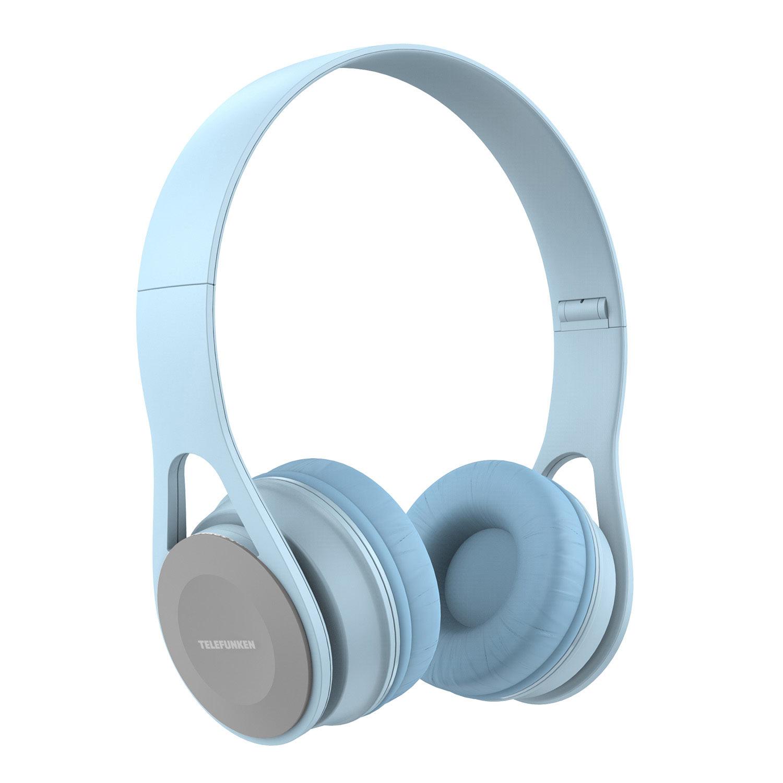 Fone de Ouvido Telefunken H 300 Azul Claro