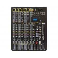 Mesa de Som Analógica 12 Canais USB e MP3 Player VZ12.4