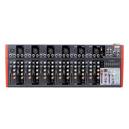 Mesa Mixer 16 Canais Novik Neo NVK 1602 Bluetooth 110V