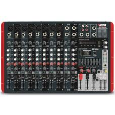 Mesa Mixer Amplificado 10 Canais Novik Neo NVK 1200P BT