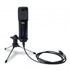 Microfone Condensador Profissional USB SKP Podcast 400 U