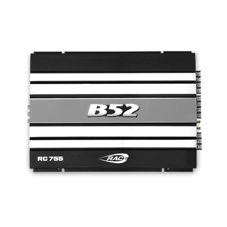 Módulo Amplificador Automotivo B52 RC 755 Preto