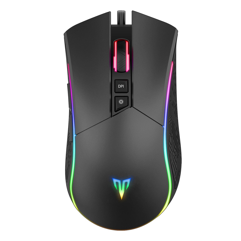 Mouse Gamer com Iluminação 4800 DPI Targa M250