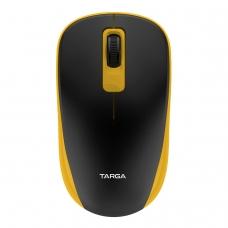 Mouse Óptico Sem Fio 1200 DPI Targa M70W Amarelo