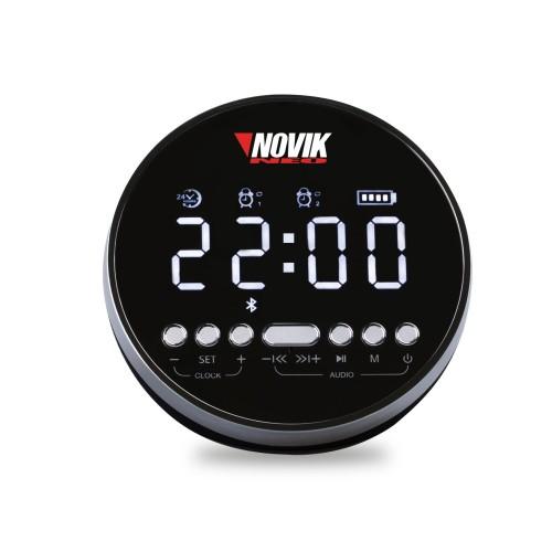 Relógio Digital Com alarme e Bluetooth Novik Neo Aion