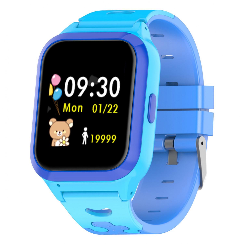 Relógio Infantil Inteligente Rastreador GPS Smart G Track Azul