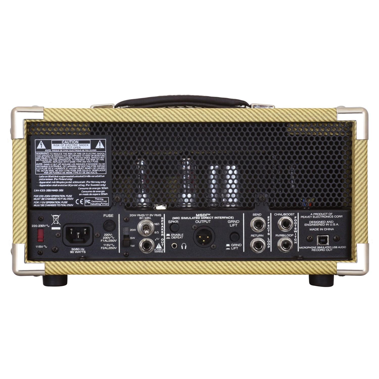 amplificador de guitarra valvulado peavey classic 20 mh 101db. Black Bedroom Furniture Sets. Home Design Ideas