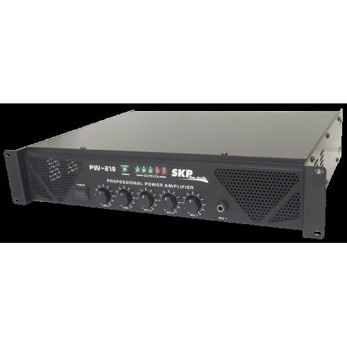 Amplificador Som Ambiente 5 Canais 200W RMS SKP PW 210