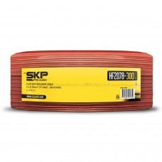 Cabo flat para Caixa Acústica 300 Metros SKP HF 2078-300 Vermelho
