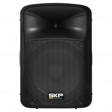 Caixa Ativa 15 Polegadas 250W RMS SKP SK 4P Preta com Bluetooth