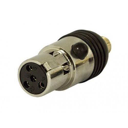 Conector 4 Pinos Mini XLR SKP A1 SHU