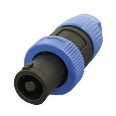 Conector Fêmea SKP FS-2P Azul