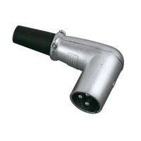 Conector Macho XLR SKP XLM3-90