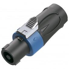 Conector Speakon Macho 4 Polos SKP MS-4