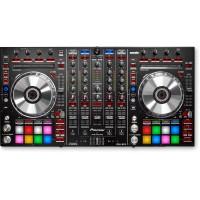 Controladora para DJ Pioneer DDJ SX2 Preta