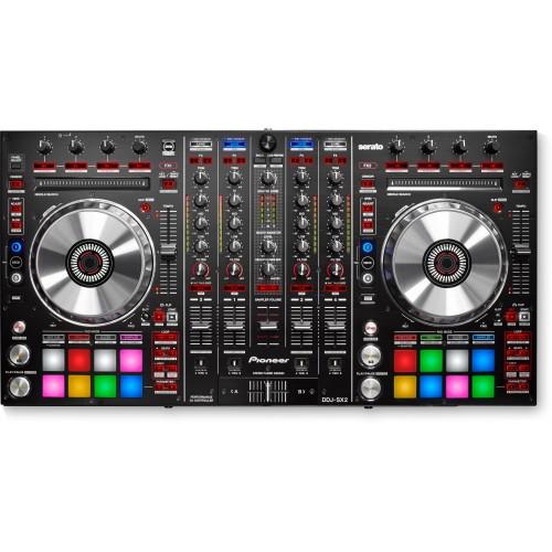 Controladora para DJ Pioneer DDJ SX2 Preta Mostruário