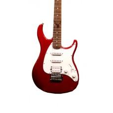 Guitarra Peavey Raptor SSH Vermelha Metálica