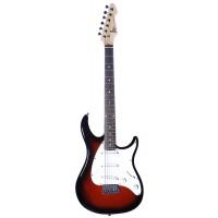 Guitarra Peavey Raptor SSS Marrom Sunburst
