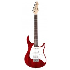 Guitarra Peavey Raptor SSH Vermelha Transparente