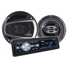 Kit Alto-Falantes 6 pol + Radio MP3 Player B52 ELK 231U