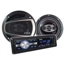 Kit Alto-Falantes 6 pol + Radio MP3 Player B52 ELK 231U
