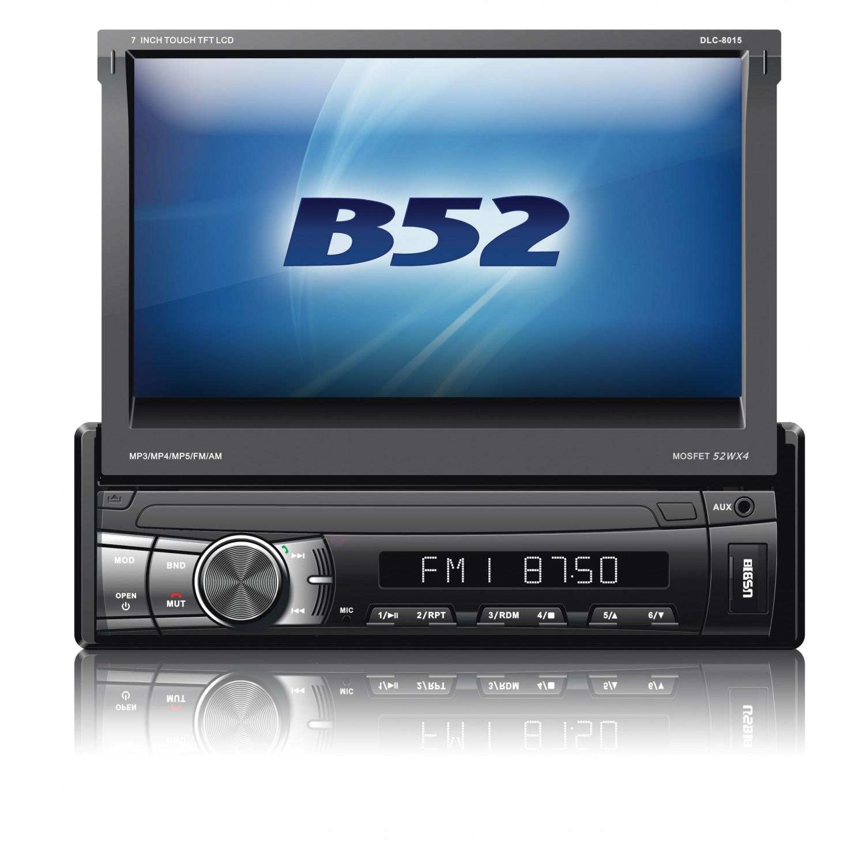 Reprodutor Multimídia B52 DLC 8015 c/ Tela de 7 MP3 USB e Bluetooth
