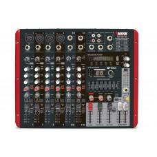 Mesa Mixer Amplificado 8 Canais Novik Neo NVK 800P BT