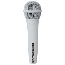 Microfone com Fio SKP PRO 92 XLR Branco