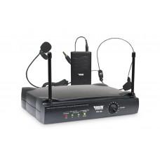 Microfone Headset e Lapela Sem Fio Novik Neo VNK 200