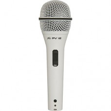 Microfone Dinâmico Peavey PVI 2W XLR Branco