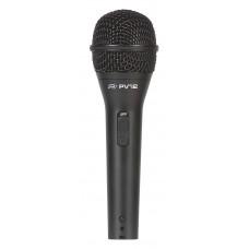 Microfone Dinâmico Peavey PVI 2 XLR Preto