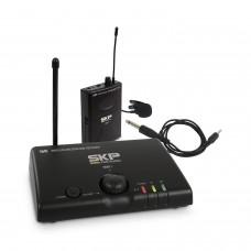 Microfone Lapela e Transmissor Sem Fio UHF SKP MINI-III