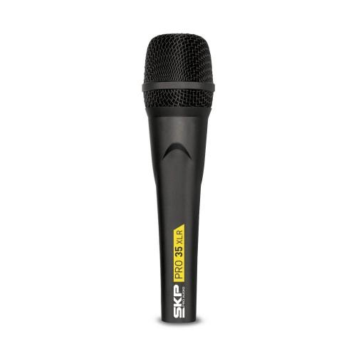 Microfone profissional com Fio SKP PRO 35XLR