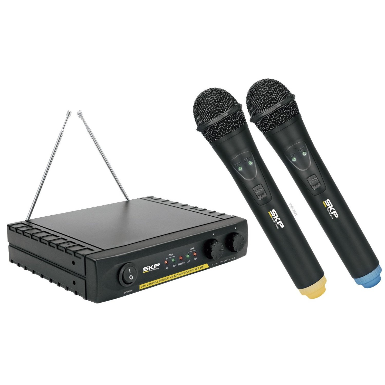 Microfone Sem Fio SKP VHF 2671