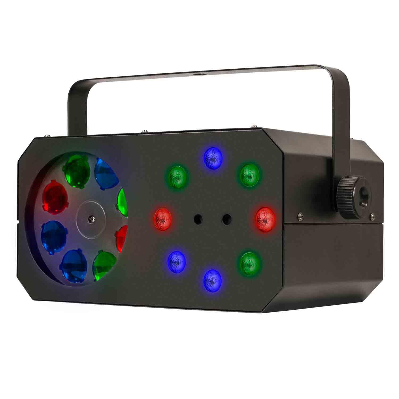 Mini Gobo em LED + Wash + Laser, 3 em 1 Magic G1 SKP Pro Light