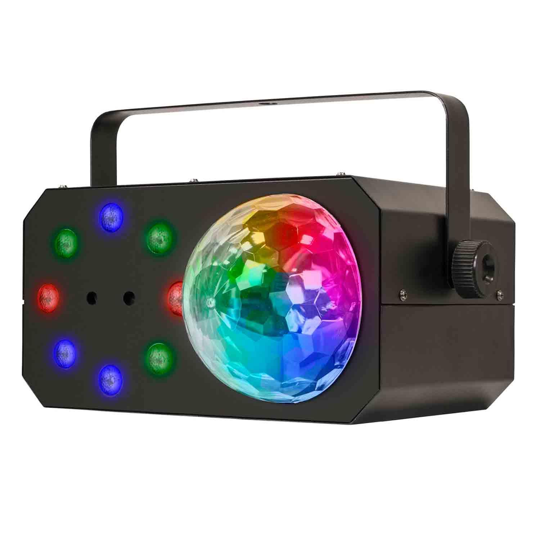Mini Gobo em LED + Wash + Laser, 3 em 1 Magic G2 SKP Pro Light