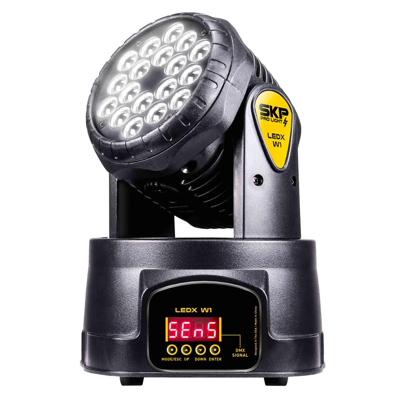 Mini Moving Head Wash LED X W1 SKP Pro Light