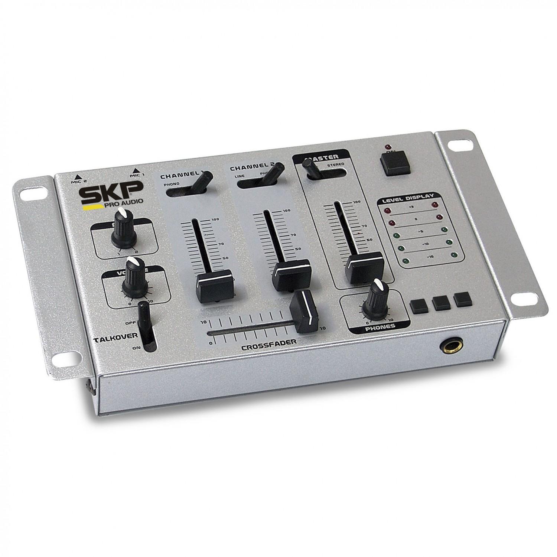 Mixer 2 Canais SKP SM 35 Cinza