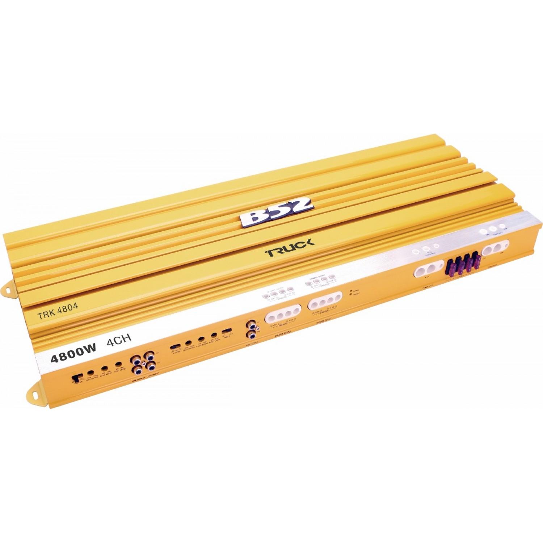 Módulo Amplificador Automotivo B52 TRK 4804 Amarelo