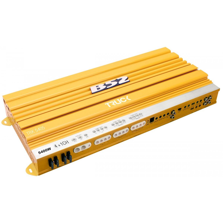 Módulo Amplificador Automotivo B52 TRK 5405 Amarelo
