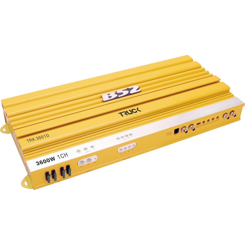 Módulo Amplificador Automotivo B52 TRK 3601D Amarelo