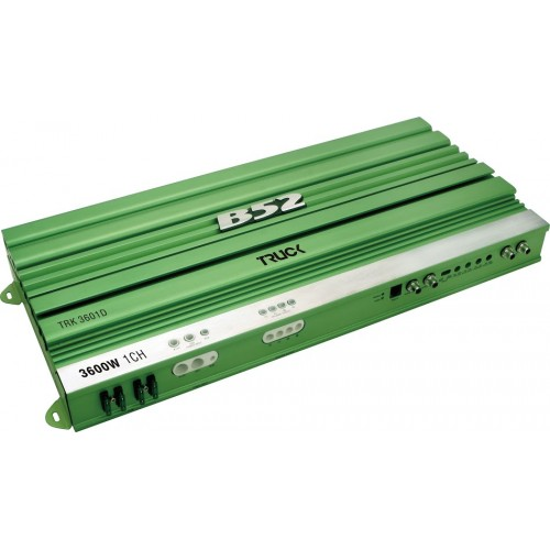 Módulo Amplificador Automotivo B52 TRK 3601D Verde