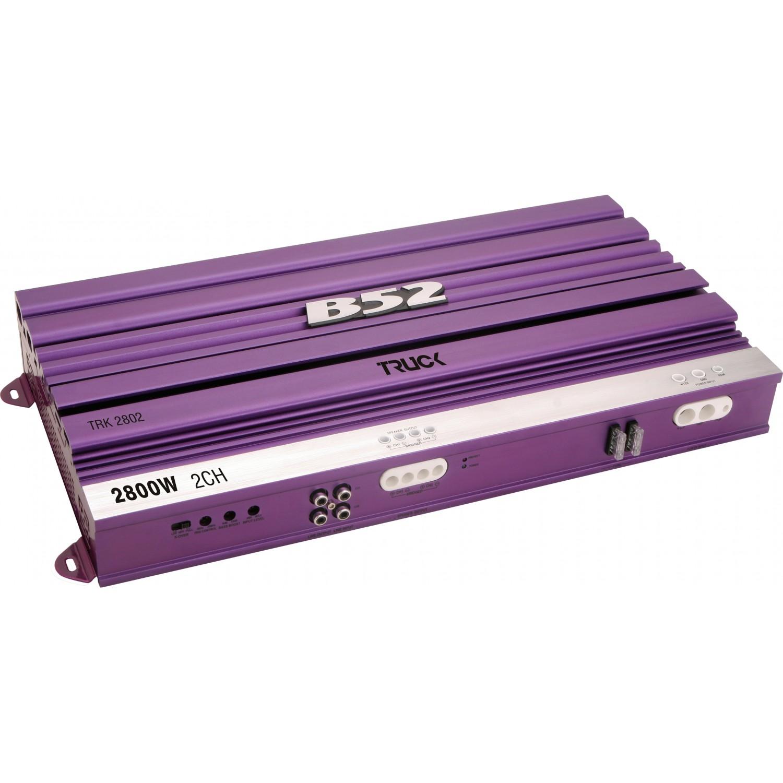 Módulo Amplificador Automotivo B52 TRK 2802 Roxo